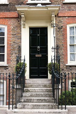 FRONT DOORS, WINDOWS AND WINDOW BOXES
